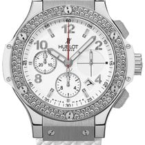 Hublot Big Bang 41 mm Steel 41mm White United States of America, New York, Airmont