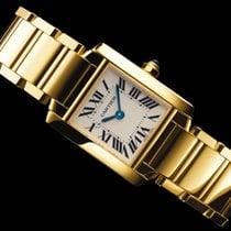 Cartier nowość Kwarcowy 20mm Żółte złoto