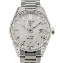 TAG Heuer Carrera 39 Automatic Silver Dial Steel Calibre 5