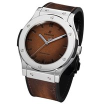 Hublot Platinum Automatic Brown 45mm new Classic Fusion 45, 42, 38, 33 mm