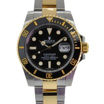 Rolex Oyter Perpetual Submariner Stainless Steel And 18kt...