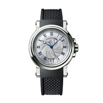 Breguet 39mm Automatic new Marine Silver