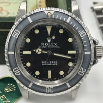 Rolex Submariner 5513 Meter First & Full Set Box Papers 1966