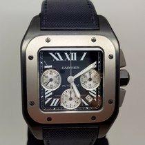 Cartier Santos 100 Chronograph PDV/Titane -Full Set-