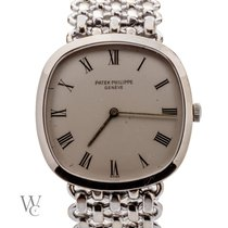 Patek Philippe Golden Ellipse pre-owned 33mm White gold