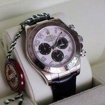 Rolex FULLY REVISED Cosmograph Daytona 18k White Gold, Panda...
