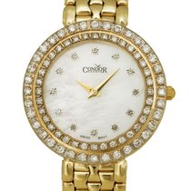 Condor 14kt Gold & Diamond Womens Luxury Swiss Watch Quartz...