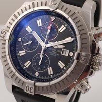 Breitling Super Avenger gebraucht 48mm Chronograph Datum Faltschließe
