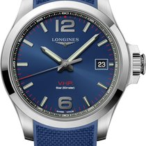 Longines Conquest Steel 41mm Blue United States of America, New York, Airmont