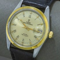 Tudor Gold/Steel 34mm Automatic Prince Oysterdate pre-owned