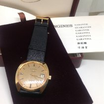 Longines Admiral Yellow gold 35mm
