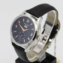 Louis Erard Steel 40,5mm Automatic 42202AA02.BDC02 new