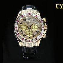 Rolex Daytona Yellow gold 40mm Gold Roman numerals Malaysia, Kuala Lumpur