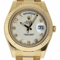 Rolex Day-Date II Yellow gold 41mm Champagne Arabic numerals United States of America, Florida, 33132