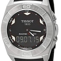 Tissot Racing-Touch Acero 43mm Negro Árabes