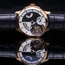 Greubel Forsey new Manual winding Rose gold Sapphire crystal