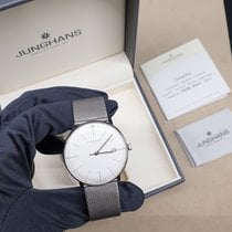 Junghans max bill MEGA Steel 38mm Silver