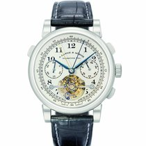 A. Lange & Söhne Tourbograph Platinum 41mm Silver United States of America, California, Newport Beach