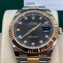 Rolex Datejust II Gold/Steel 41mm Black No numerals UAE, Abu Dhabi