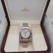 Omega De Ville Co-Axial Steel 41mm White No numerals