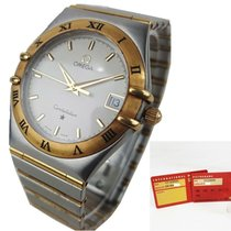 Omega Constellation Quartz Gold/Steel 35mm White