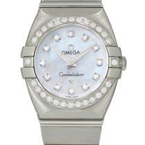 Omega Constellation Double Eagle Steel 24mm Mother of pearl