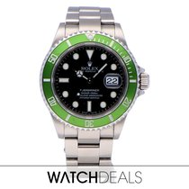 Rolex Submariner Date 116610LV 2004 pre-owned