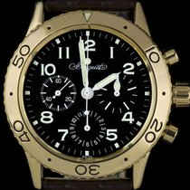 Breguet Type XX - XXI - XXII Yellow gold 39mm Black Arabic numerals United Kingdom, London
