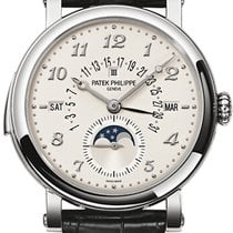 Patek Philippe Minute Repeater Perpetual Calendar White gold Champagne United States of America, New York, Brooklyn