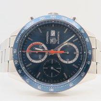 TAG Heuer Carrera Calibre 16 Blue Dial Chronograph Ref. CV2015