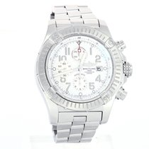 Breitling Super Avenger Steel 48mm White Arabic numerals