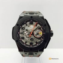 Hublot Big Bang Ferrari  Unico All Black Limited Edition , NEW...