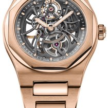 Girard Perregaux Laureato Skeleton Rose Gold