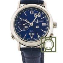 Ulysse Nardin GMT Perpetual Calendar White Gold 38.5mm Blue...