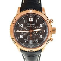 Breguet Type XXI 42mm 3810BR/92/9ZU Automatic K18 Rose Gold croco