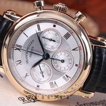 Franck Muller Rare Chronograph Silver Dial Rose Gold