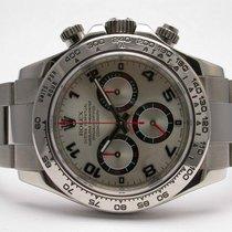 Rolex Daytona 116509 Cosmograph 18k White Gold Tachymeter...