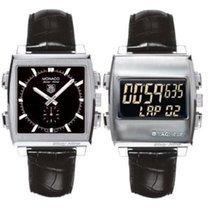 TAG Heuer Monaco 69 Reversible Automatic & Digital Watch