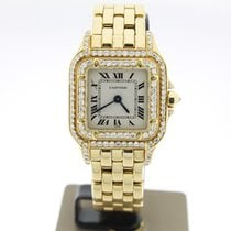 卡地亚 (Cartier) Panthère YellowGold AfterSetDiamonds (B&P1998)+S...