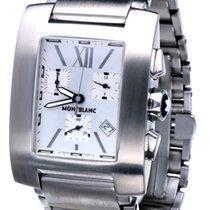 Montblanc Profile Steel 34mm Silver No numerals