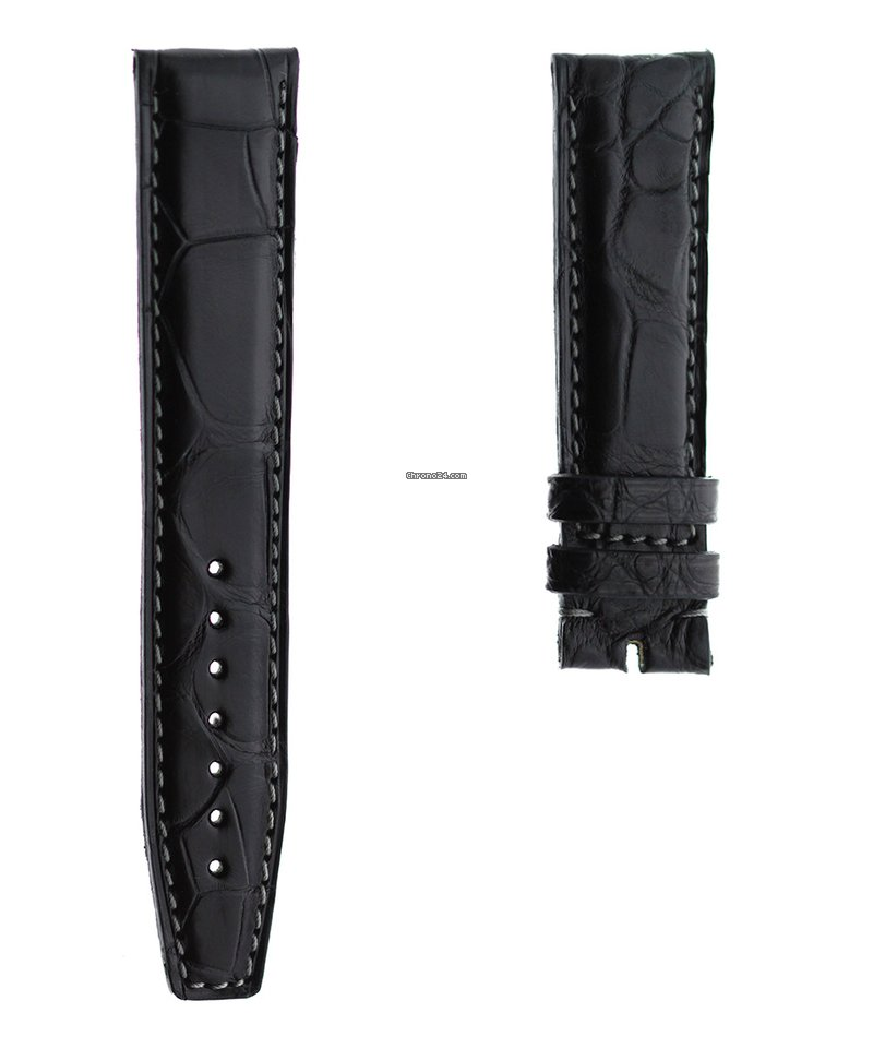 Original IWC leather strap genuine alligator IWC Portuguese Chronograph Classic