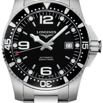 Longines HydroConquest Steel 41mm Black United States of America, New York, Airmont