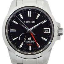 Seiko Gs Grand Spring Drive Gmt Sbge 013 9r 66 Power Reserve...