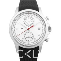萬國 IWC Portugieser Yacht Club Chronograph Mens Watch White Dial