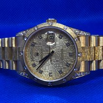 Rolex Day-Date 36mm SOLID GOLD Diamonds Computer Dial 1991