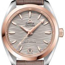 Omega Seamaster Aqua Terra Gold/Steel 34,00mm Grey