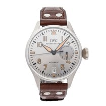 IWC Platinum Automatic Silver Arabic numerals 46.2mm pre-owned Big Pilot