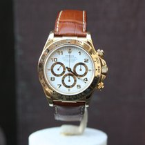Rolex Vintage Daytona 'Zenith' Yellow Gold U-Series white dial