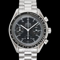 Omega Speedmaster Chronograph Black/Steel 39mm - 3510.50