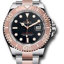 Rolex Yacht-Master 40 Gold/Steel 40mm Black No numerals United States of America, New York, New York
